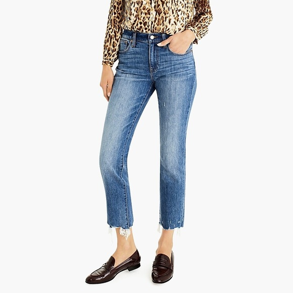 J. Crew Denim - J. Crew Slim Boyfriend Jean with Chewed Hem NWT